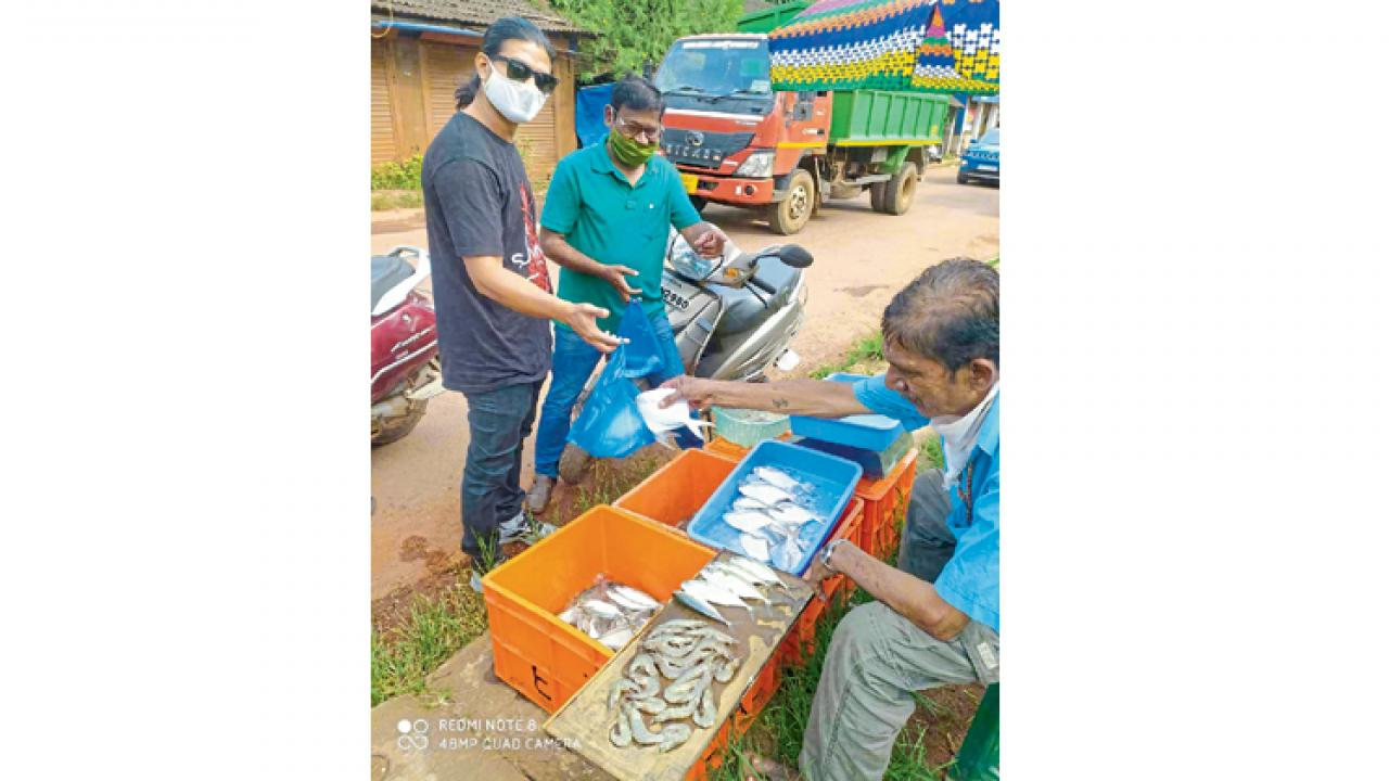 Coronavirus Pnademic: Goans people are turning to fishing
