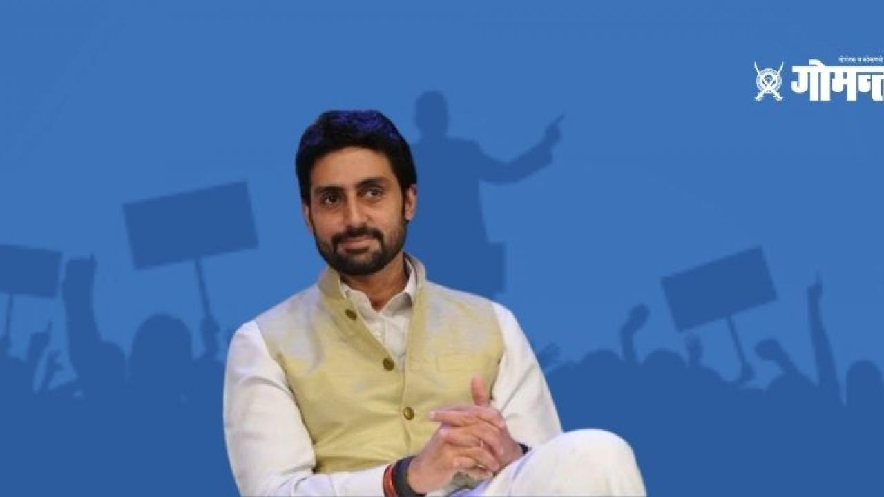 Abhishek Bachchan to play 10th standard failed Chief Minister role in the upcoming movie