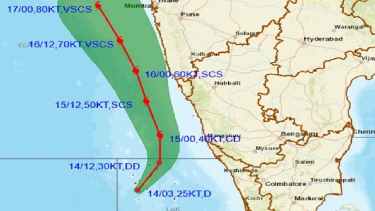 Heavy rains expected in Goa from May 15 to 17
