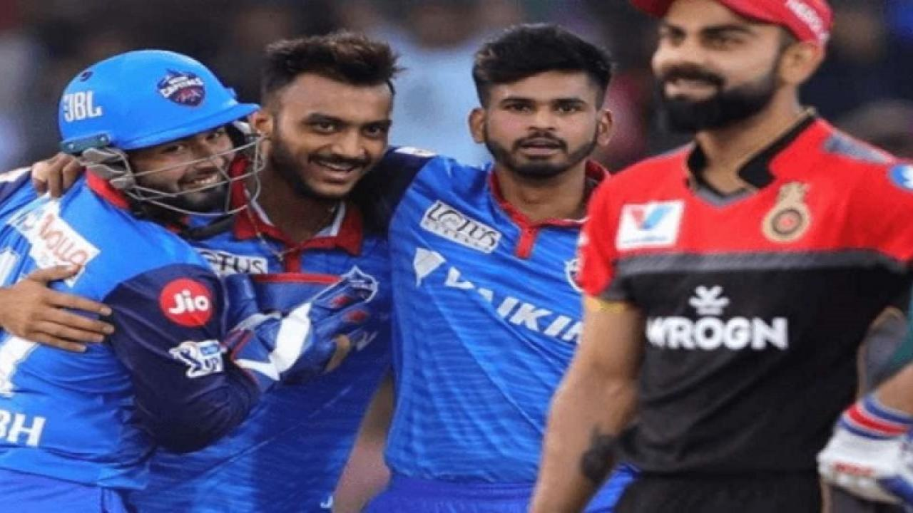 delhi capitals to play with royal challangers