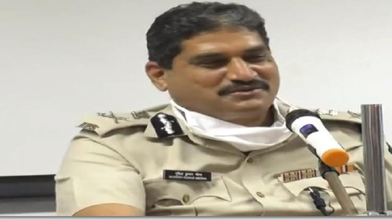 goa dgp mukesh kumar meena tests positive with corona