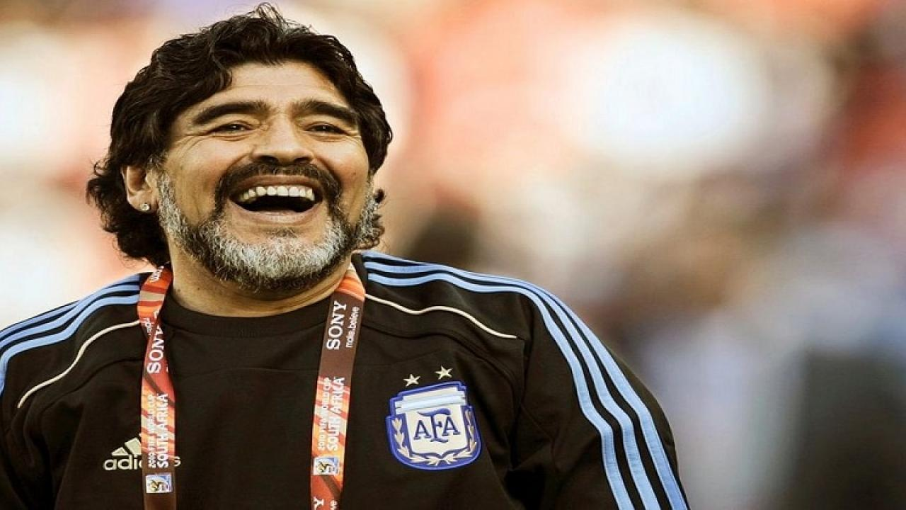 Argentine footballer Diego Maradona known as Hand of God died at the age of 60