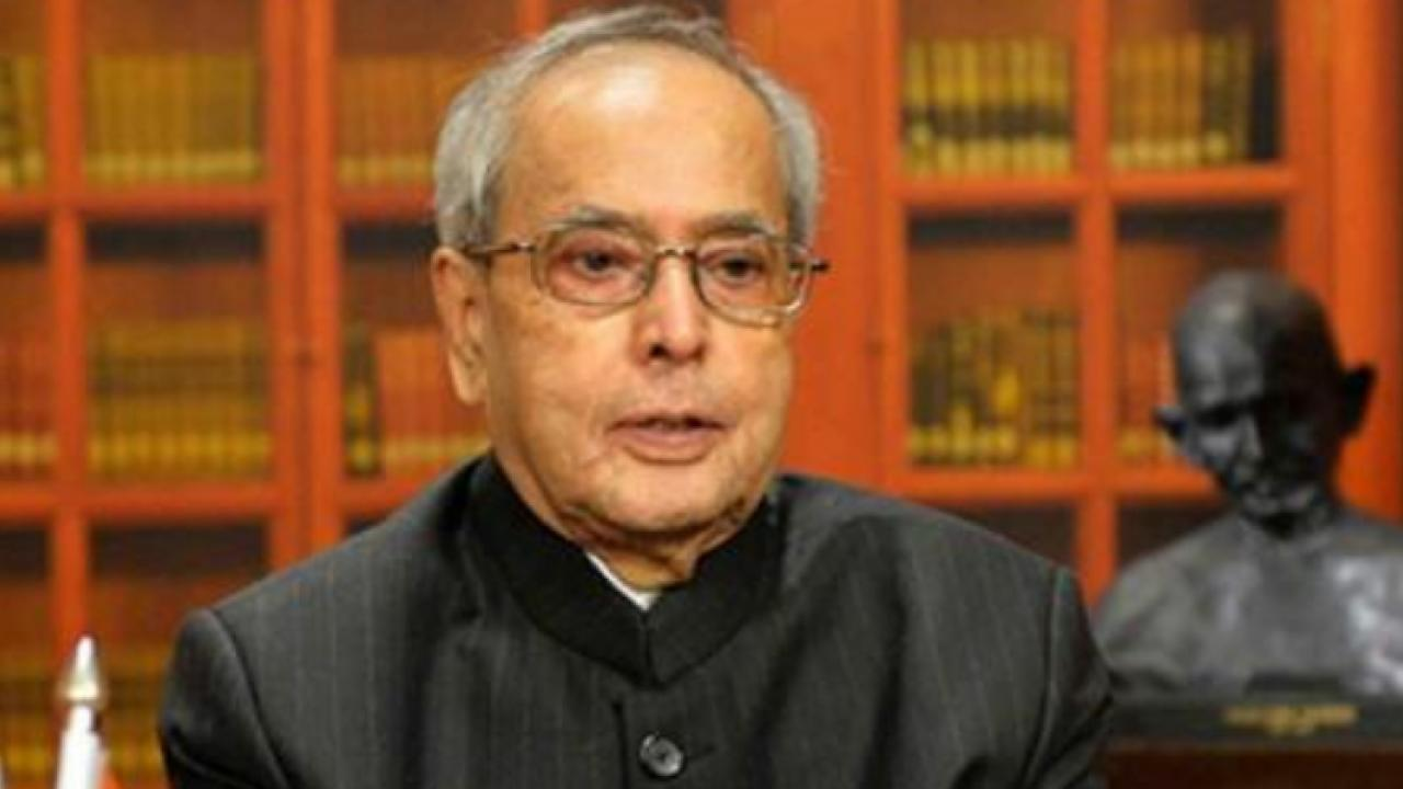 editorial article on Pranab Mukherjee