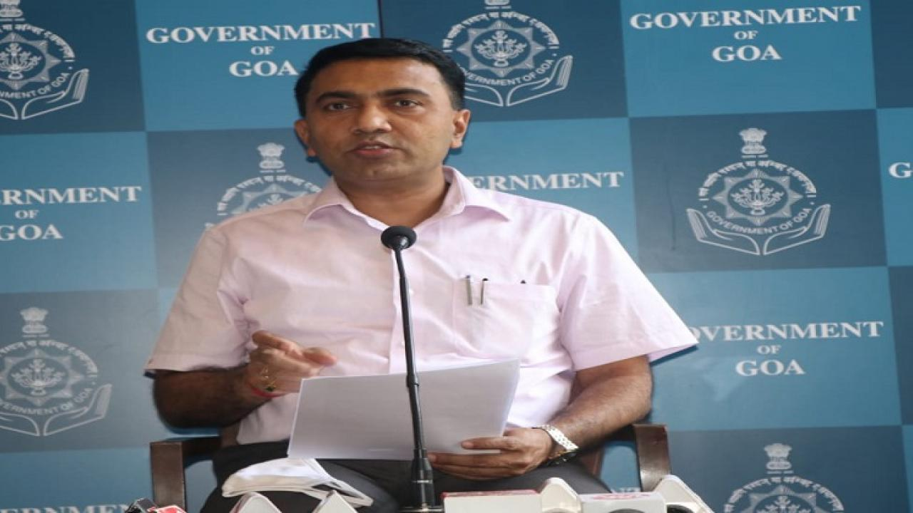 Government of Goa aims at developing every village in the Goa state