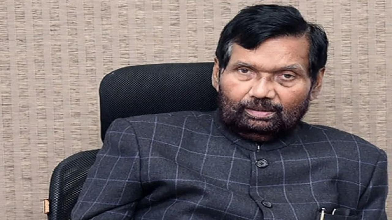 union minister ramvilas paswan died yesterday in delhi