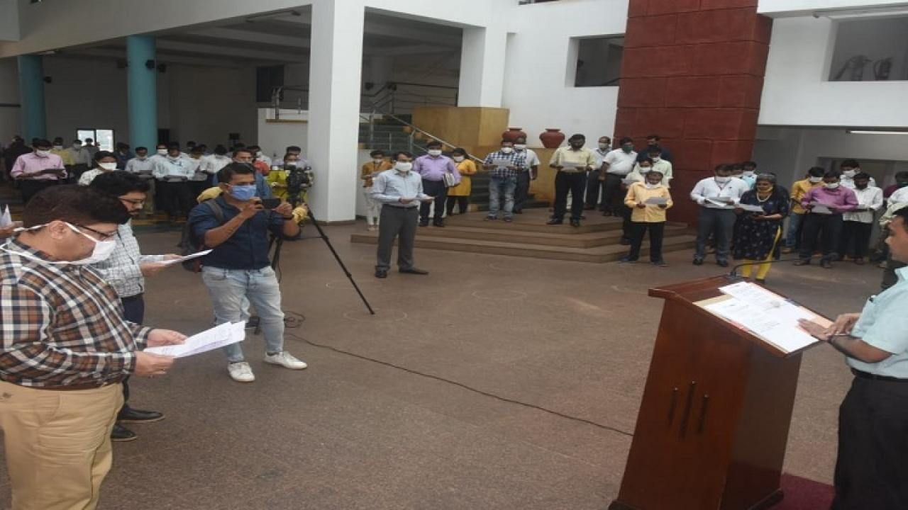 Constitution Day celebrated in Goa