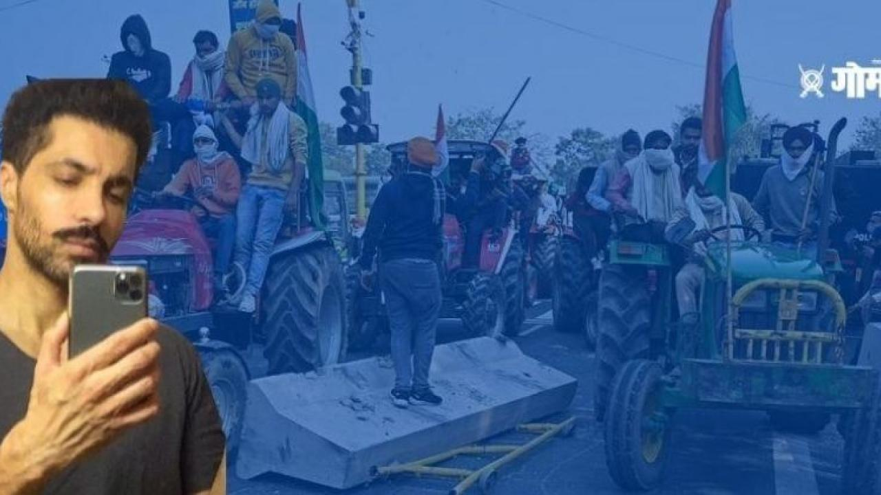 Farmer Protest It was wrong to make Facebook live Deep Sidhu confessed