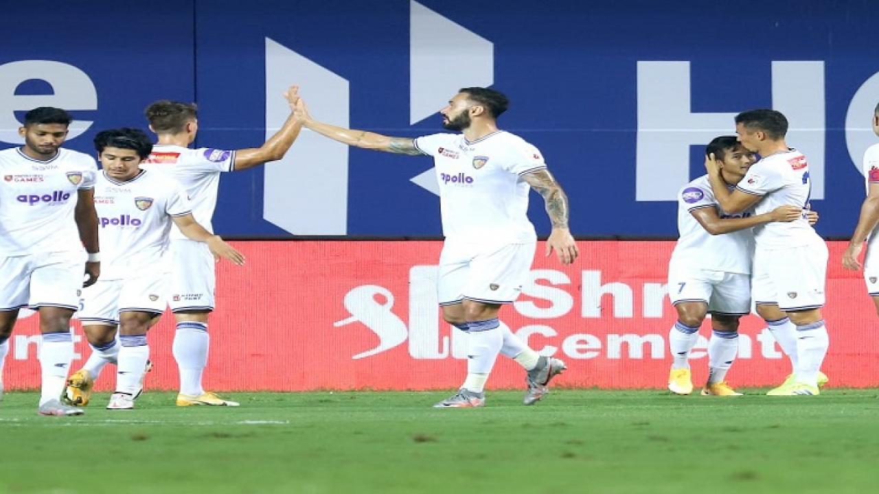 Fighting Chennaiyin unbeaten for four matches