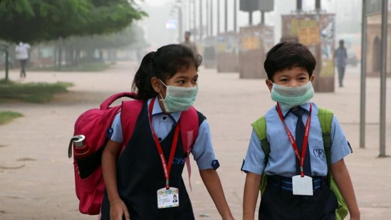 two-school-students-wearing-protect-mask