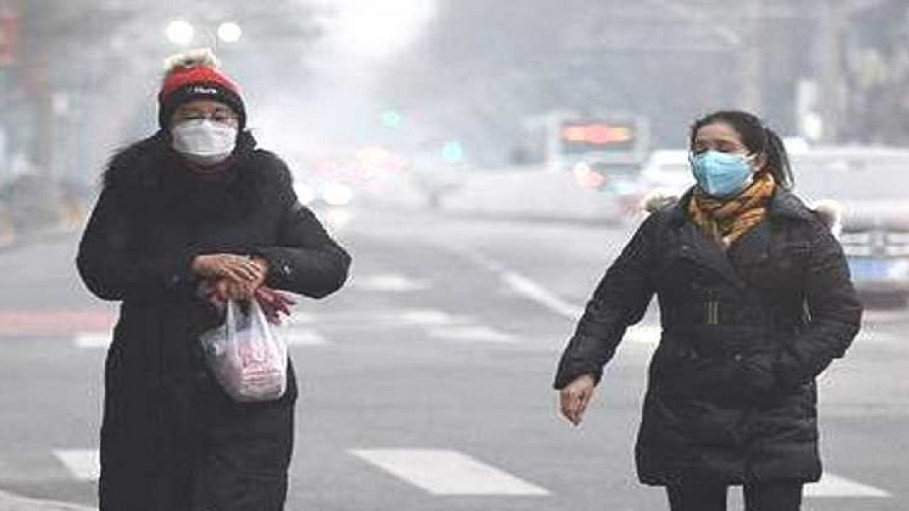 The temperature was recorded at 7.5 degrees Celsius in Delhi yesterday
