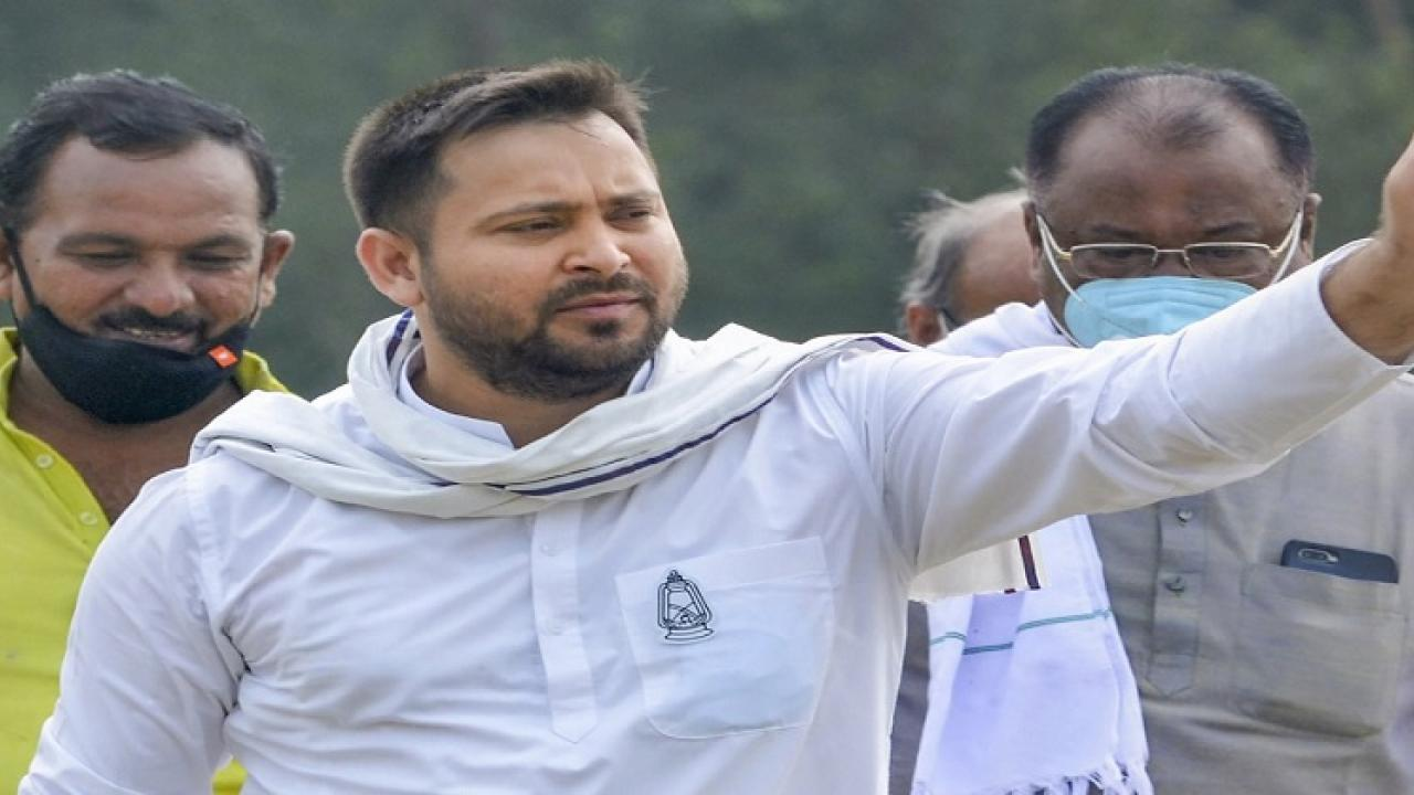 Tejaswi Yadav alleges fraud in postal counting