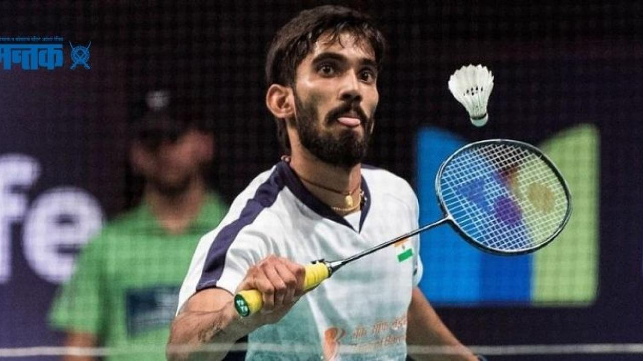 Kidambi Shrikant pulls out of Thailand Open due to muscle injury