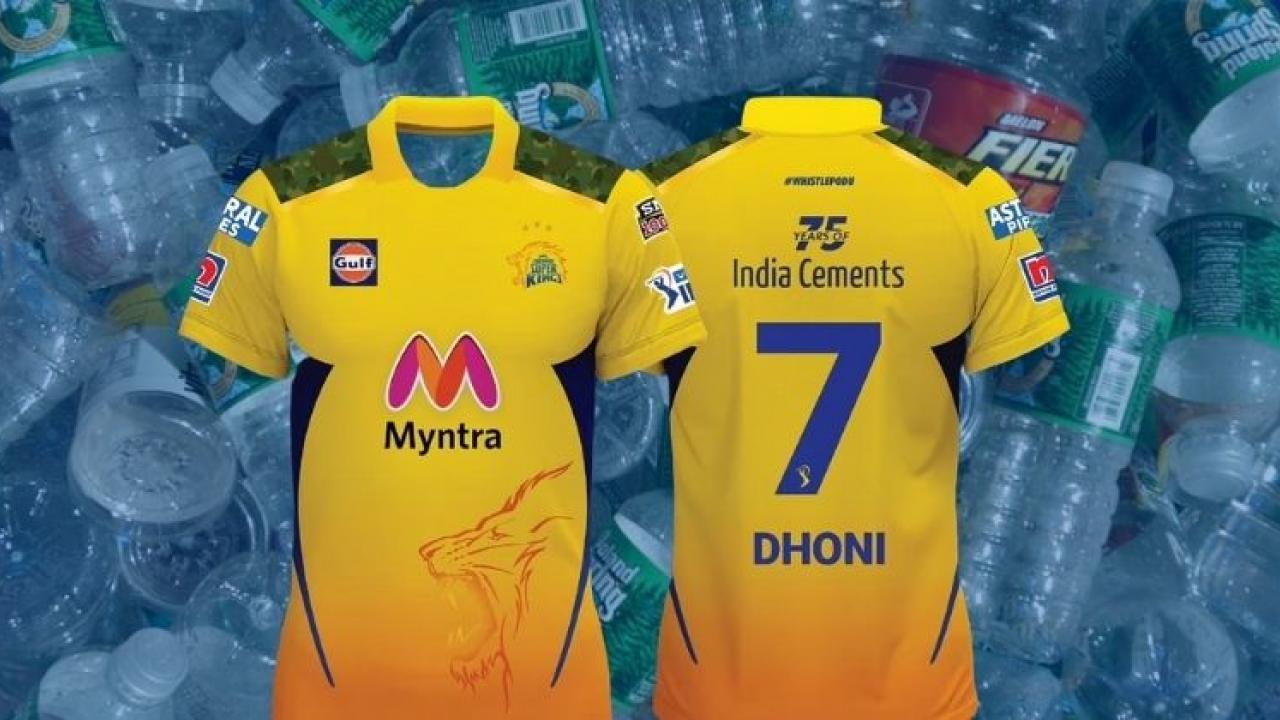 IPL 2021 Learn to use 15 bottles for CSK jersey because