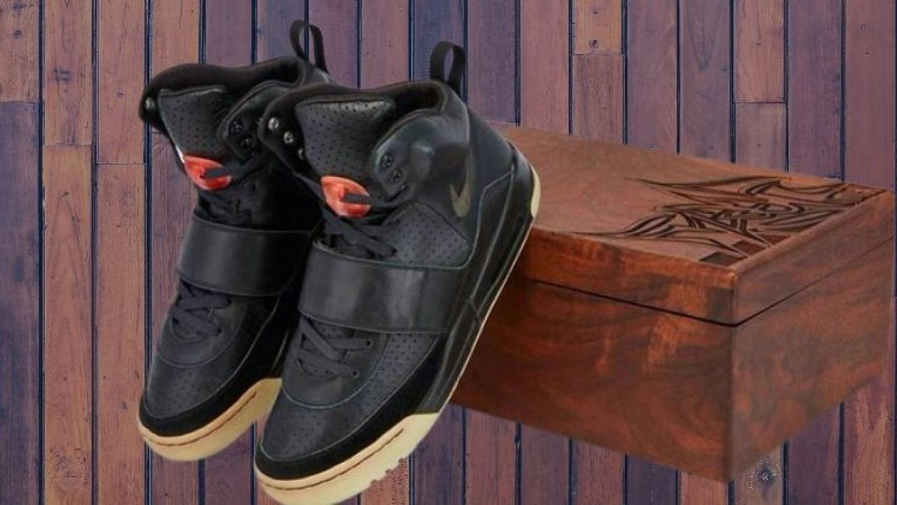The shoes of American rapper Kanye West were sold for Rs 13 crore