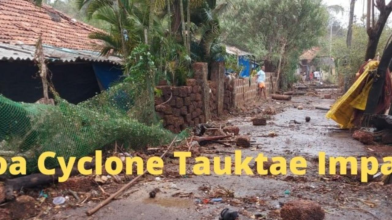 Goa Cyclone Tauktae Impact Where are the other 10 ministers of Goa in such a situation