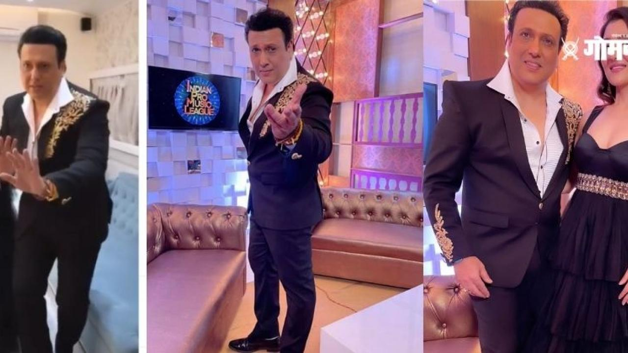Video Govinda is dancing with his daughter Narmada Ahuja