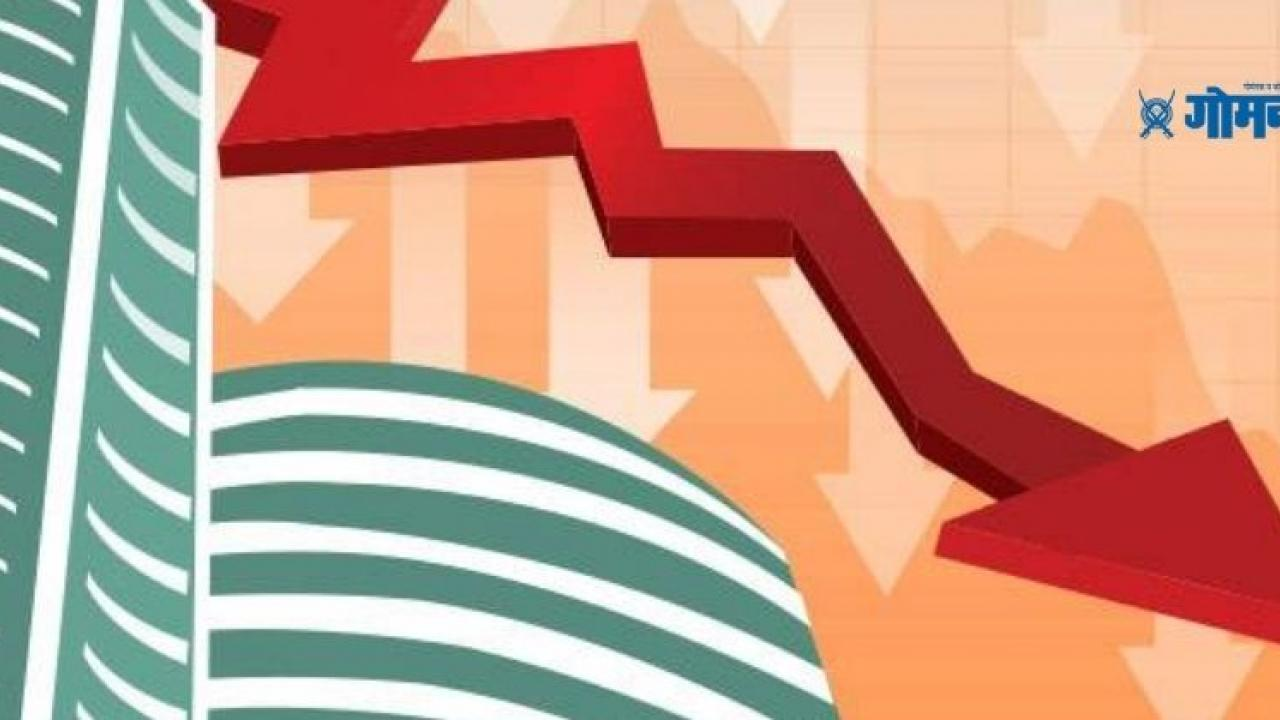 Share Market Sensex plunges by 400 points and The Nifty also fell