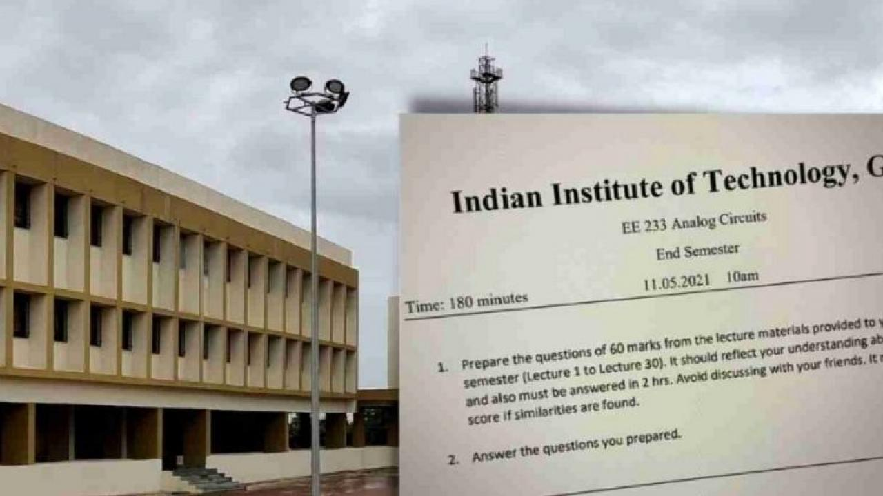 Create your own question paper and answer it yourself, Goa-IIT's weird exam parton