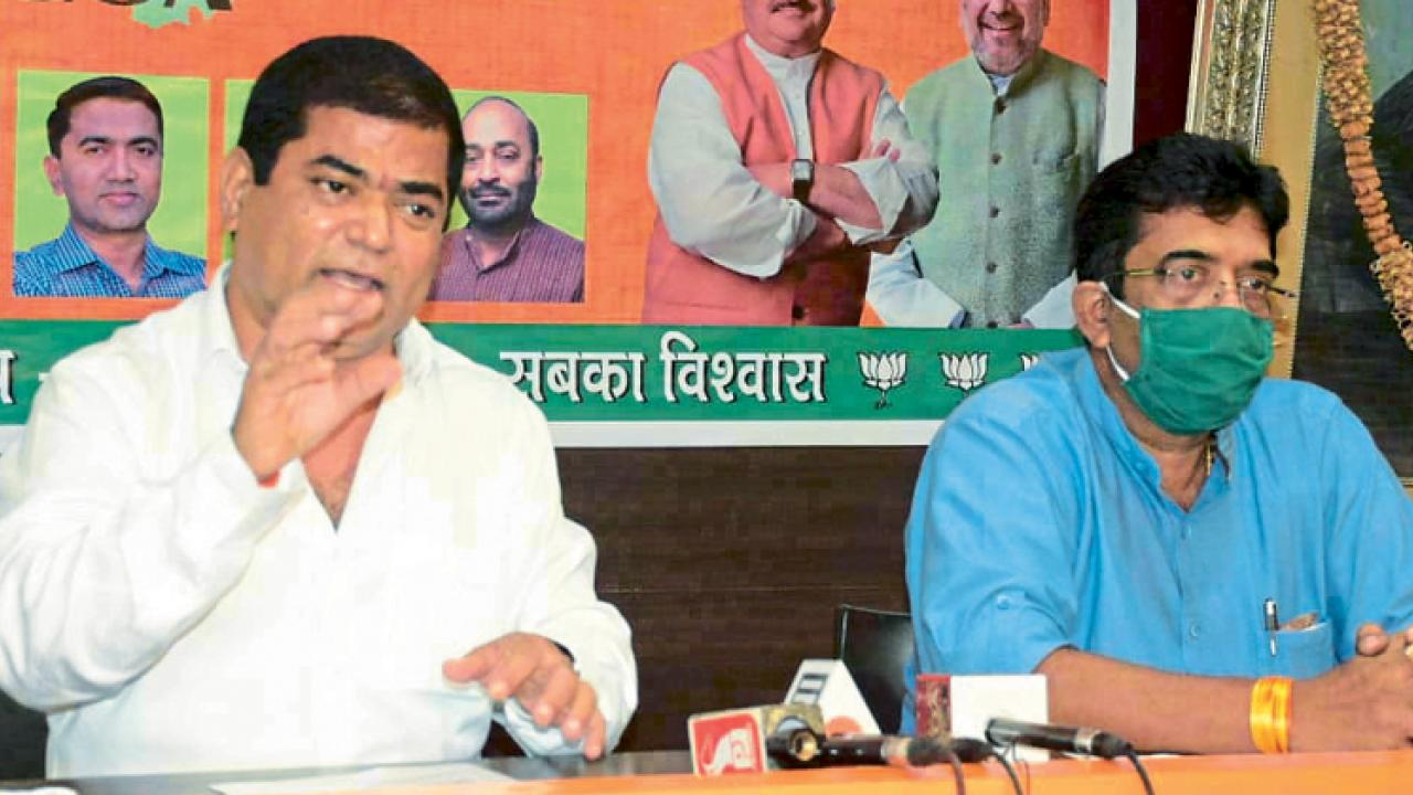 Goa: Agri bills will benefit farmers says Deputy CM Chandrakant Kavalekar