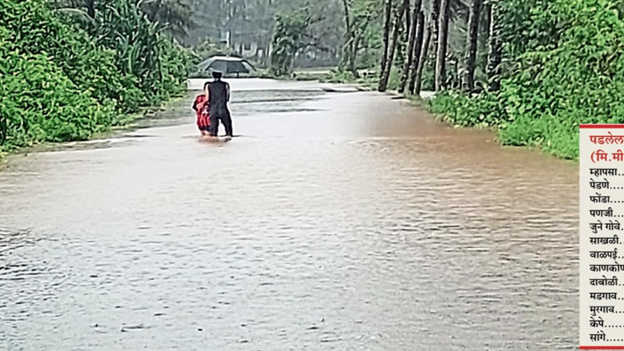 Goa: IMD predicts heavy rain today