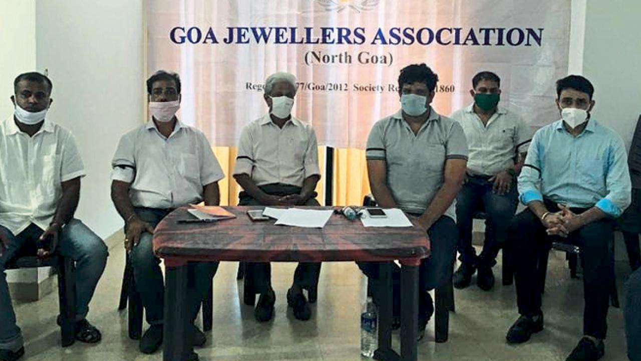 Goa Jewellers Association demand protection for goldsmith