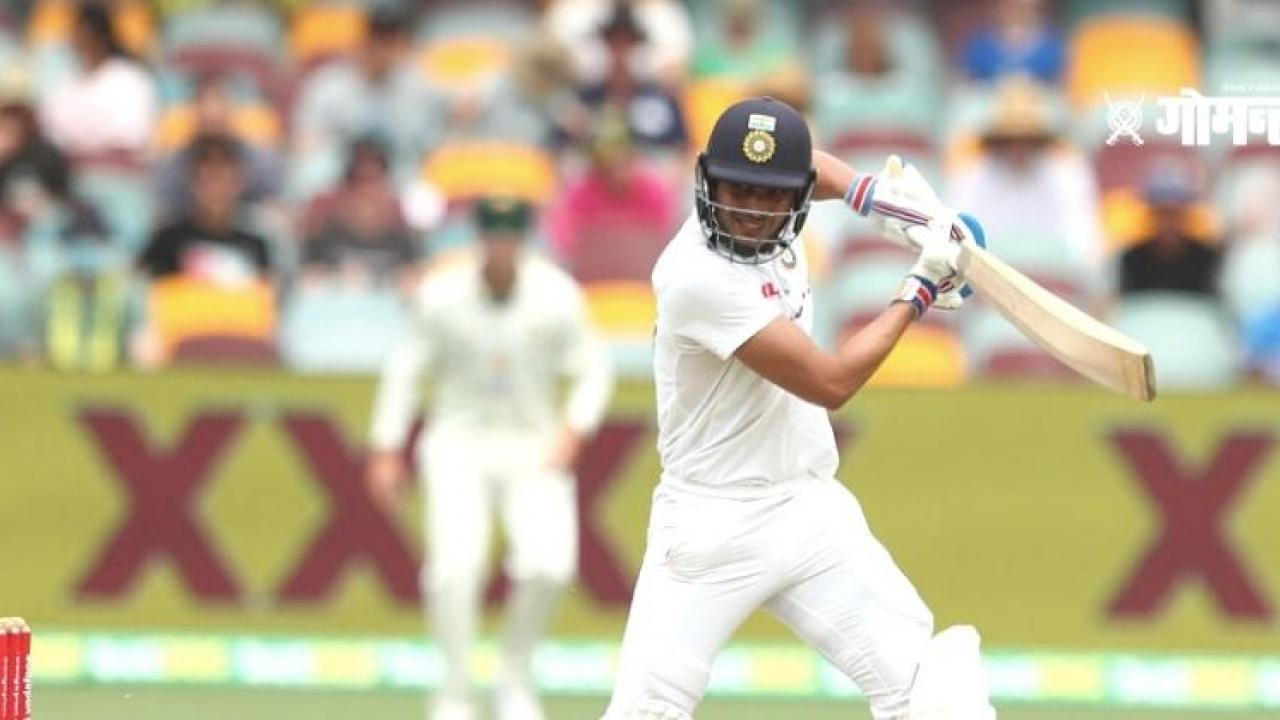 India vs Australia 4th Test Cricket Day 5 Updates Brisbane Gaba Shubham Gill hits a half century