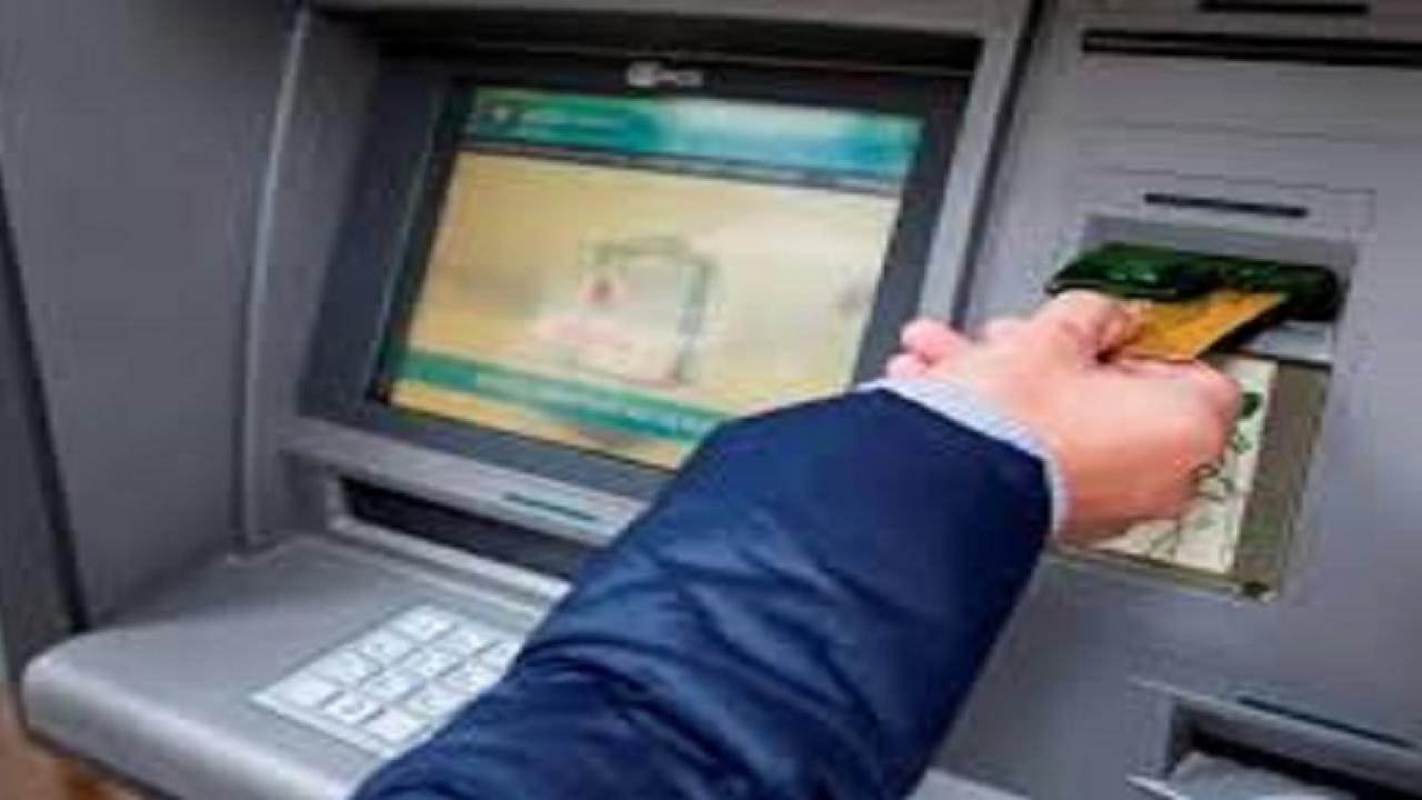Thieves snatched 'ATM' machine at parwari