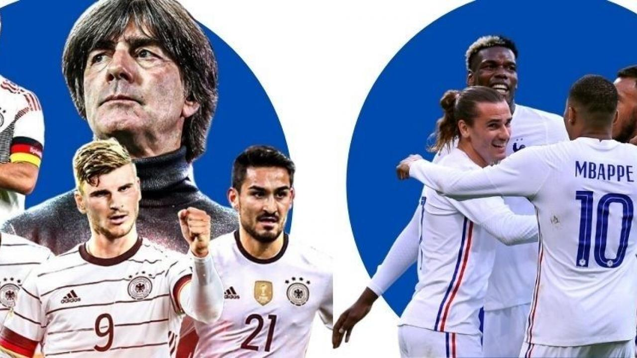 euro cup germany and france