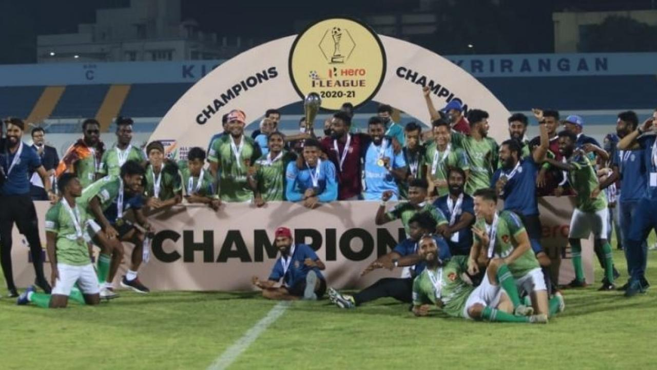 Goa Professional League Gokulam Kerala I League winners