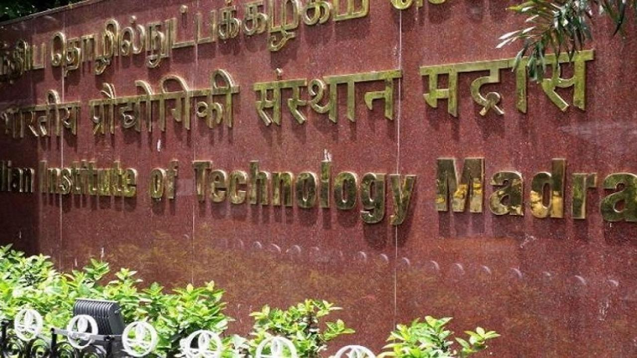 IIT Madras is currently declared as a hotspot