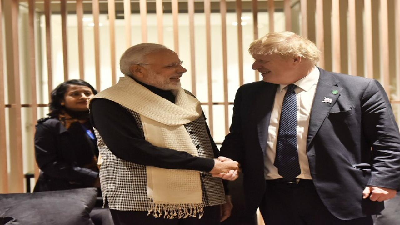 PM Modi invites Boris Johnson for Republic Day