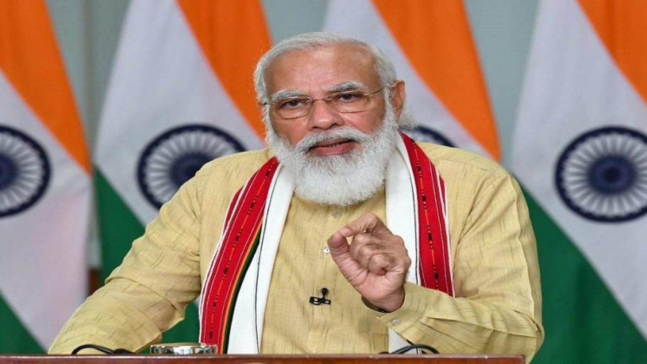 PM modi will adress the country today at 6 PM