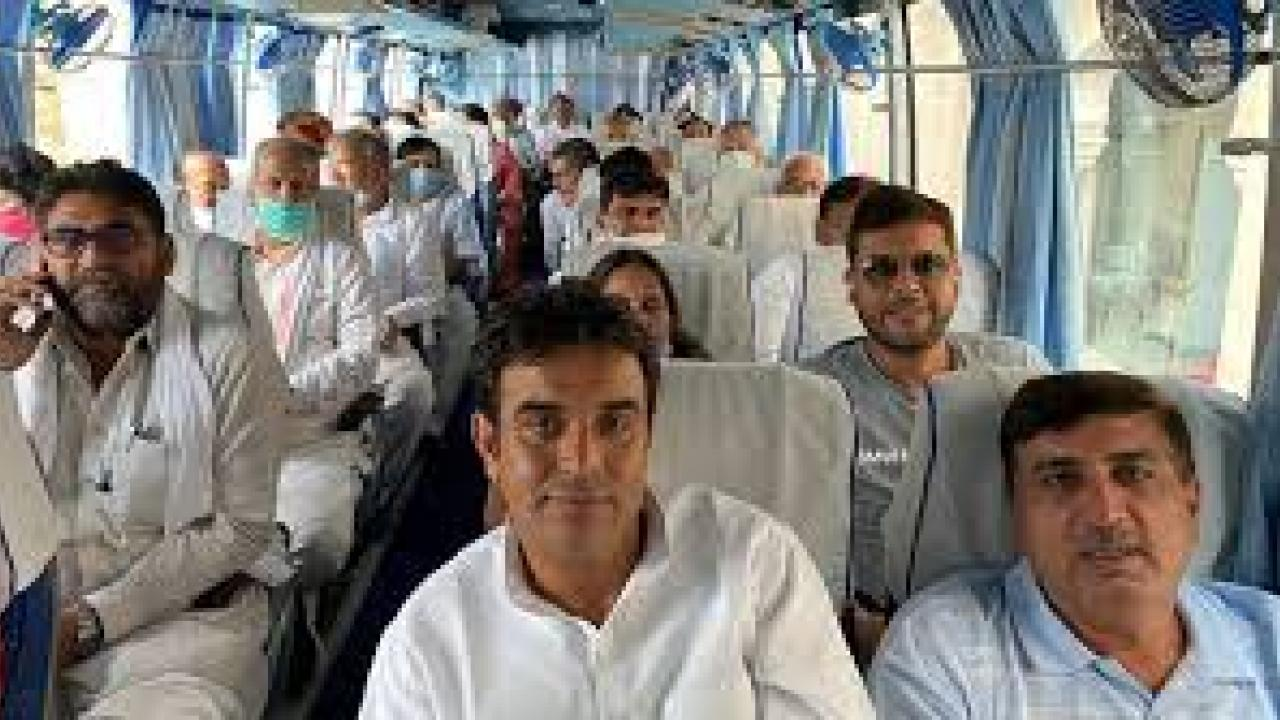congress MLLA`s to Jaisalmer