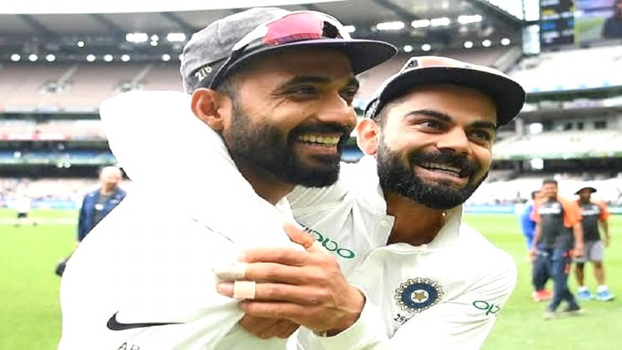 Virat Kohli appreciates Ajinkya Rahane for his brilliant hundred and his captaincy