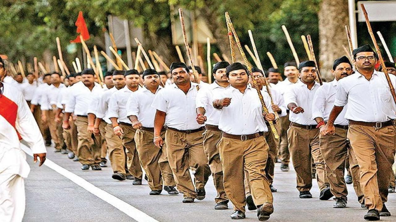 RSS is largest organization in the world