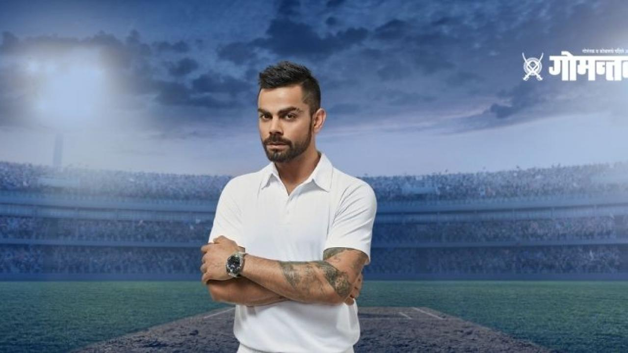 Virat Kohli praised Axar patel in Gujarati language