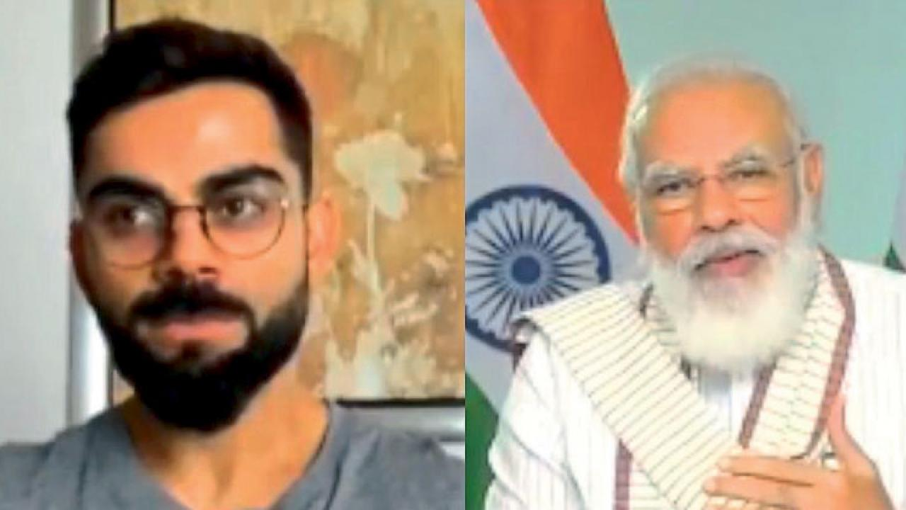 Prime Minister Narendra Modi Question Virat Kohli What is Yo Yo test
