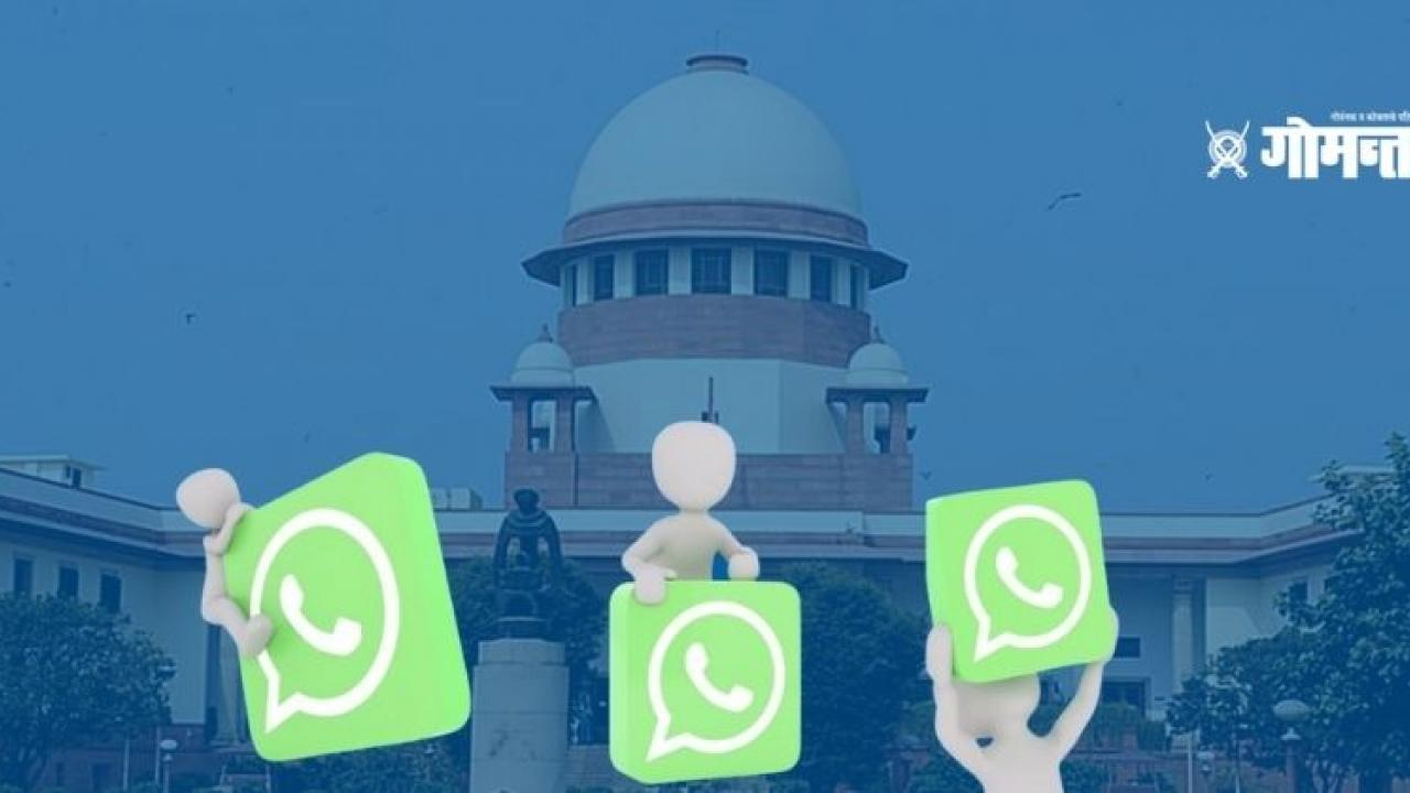 The Supreme Court struck down WhatsApp Facebook over its privacy policy