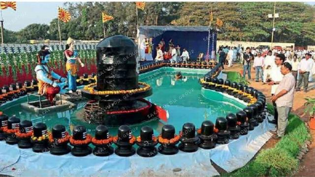 A symbol of worship for lord shiva