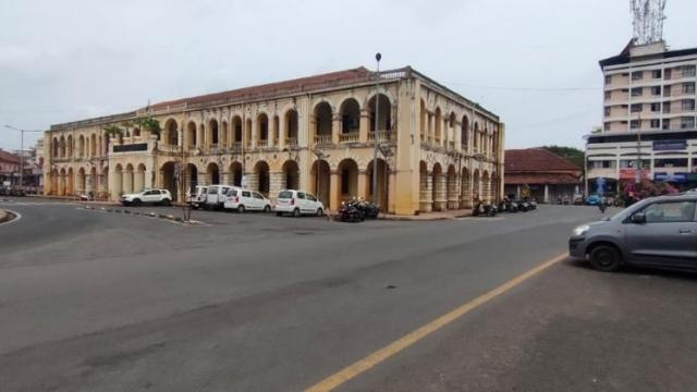 Due to the lockdown, no one leaves Margao