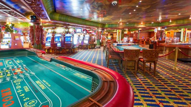 Casino started but in business anxiety