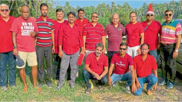 Distanced friends from Goa met after 30 years due to corona