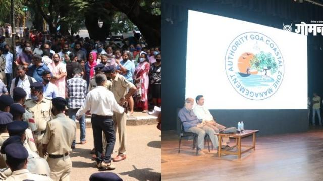 Goa Coastal Area Management Plan continues despite opposition from public hearing attendees