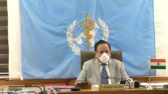 health minister harshwardhan accepted that india is in community transfer
