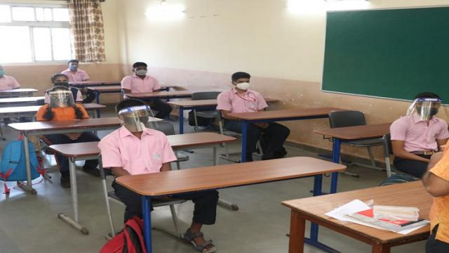 Good response of students to 10th class in Fonda taluka