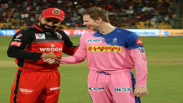 RR to play with Royal challengers in IPL 2020