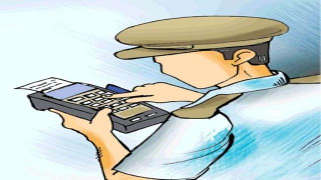 Connectivity to a given device for 'e-challan' is being hampered