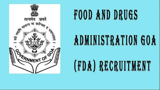 food and drugs administration of goa