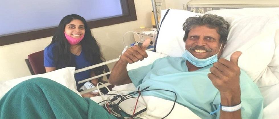 Kapil Dev going to discharge from the hospital soon