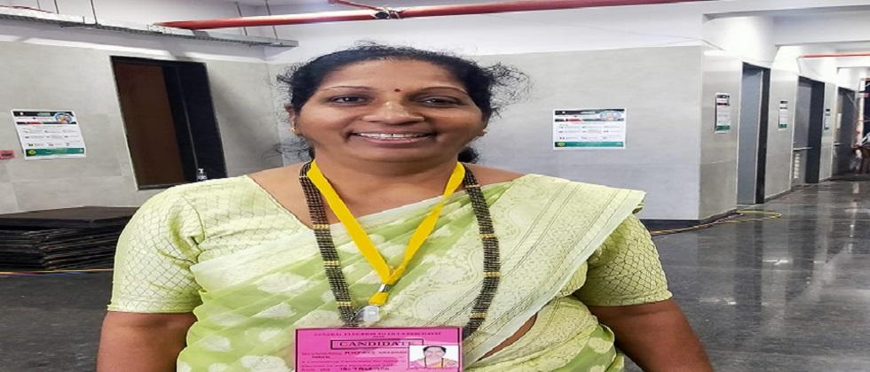BJP candidate Anjali Naik won from Talgaon constituency by around 2300 votes